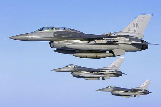 资料图:美制F16战机