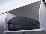 便于开关的、更宽大的头顶行李舱