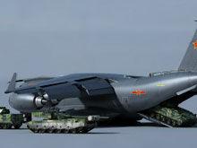 CG图:99坦克等从Y-20中开出