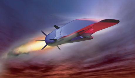 美国X-51A高超音速飞行器示意图