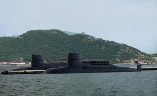 资料图:中国战略导弹核潜艇