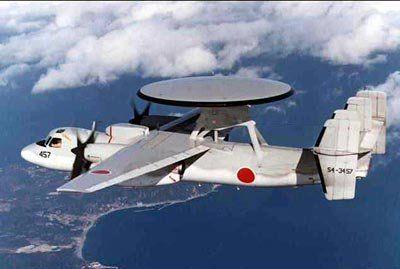 """日本改装后的""""鹰眼2000""""预警机(资料图)"""