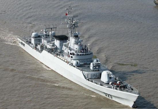 中国海军053H3江卫II型护卫舰