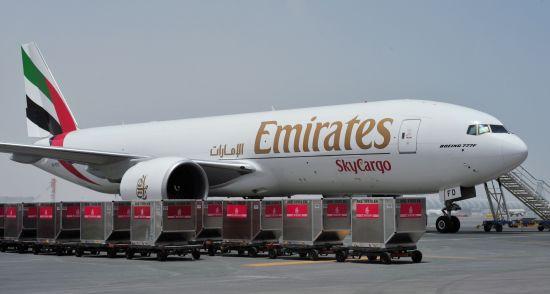 阿联酋航空货运部SkyCargo的波音777全货机