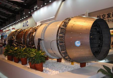 资料图:国产太行航空发动机