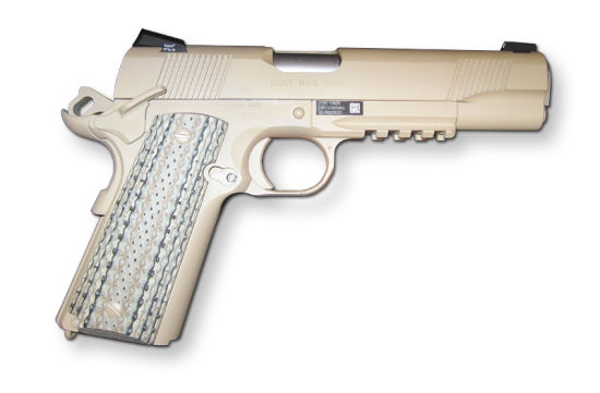 柯尔特M45近距离战斗的手枪(CQBPs)