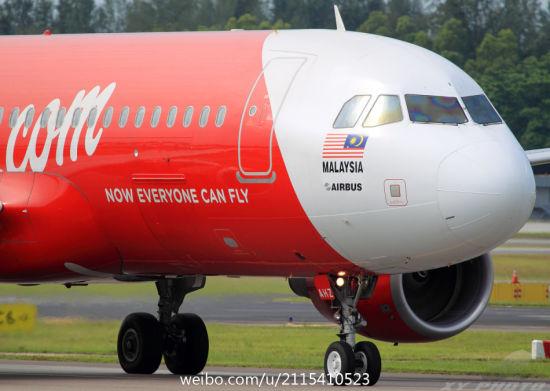 亚洲航空上海至吉隆坡航线开通