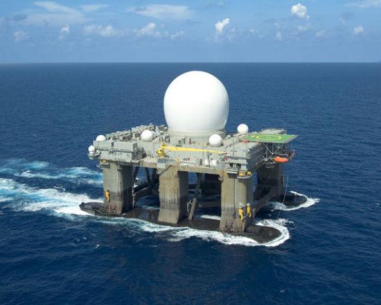 X波段雷达探测距离可达4000公里,基本覆盖中国全部海岸
