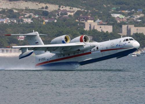资料图:俄罗斯别-200CHS两栖飞机