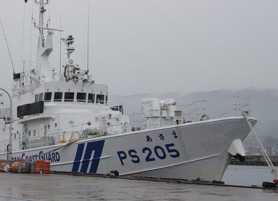 资料图:日本海保船大都配备火炮