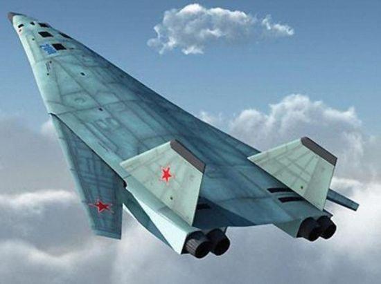 网络流传的俄罗斯下一代轰炸机想象图