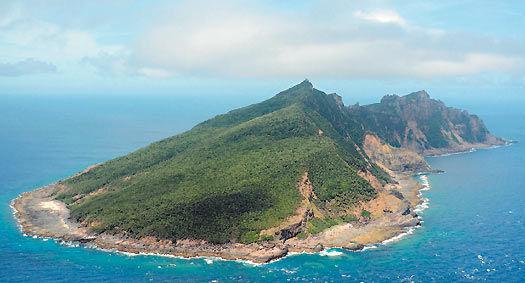 钓鱼岛资料图 图片来源:台湾《联合报》