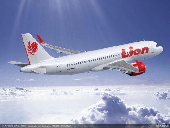 印尼狮航上月刚刚订购234架A320系列飞机