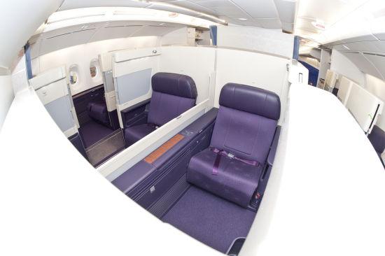 南航A380客机头等舱。