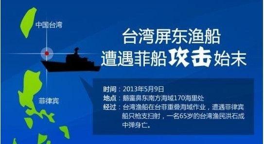 菲军舰追击台渔船事件始末