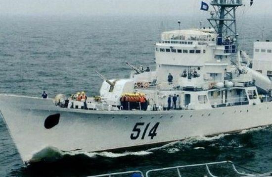 资料图:中国海军镇江舰