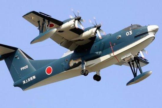 日本或向印度出口的US-2水上飞机