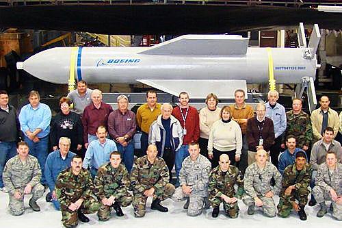 GBU―57钻地导弹