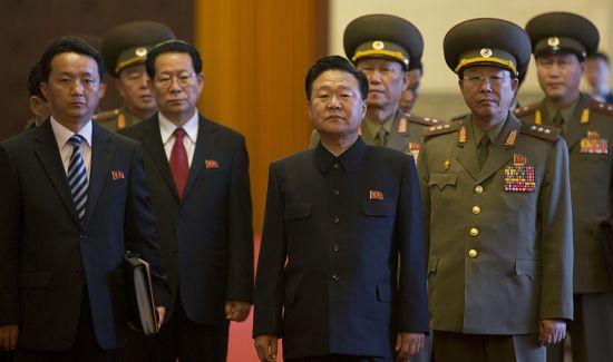 资料图:朝鲜特使崔龙海访华,习近平接见