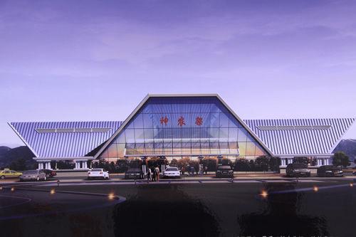 资料图:神农架机场建成效果图