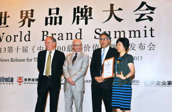 """国航获评2013年度""""中国500最具价值品牌""""。摄影 王泽民。"""