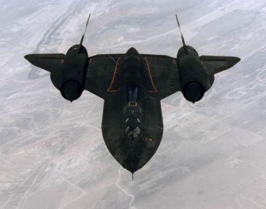 资料图:SR-71侦察机。