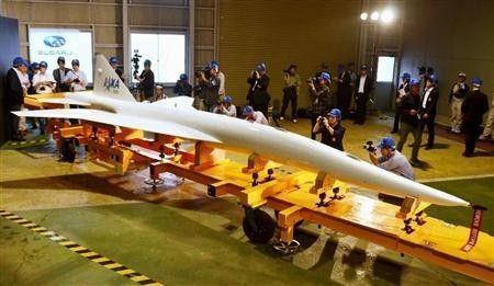 日本JAXA5月30日对外公开了日本首架国产超音速客机试验机