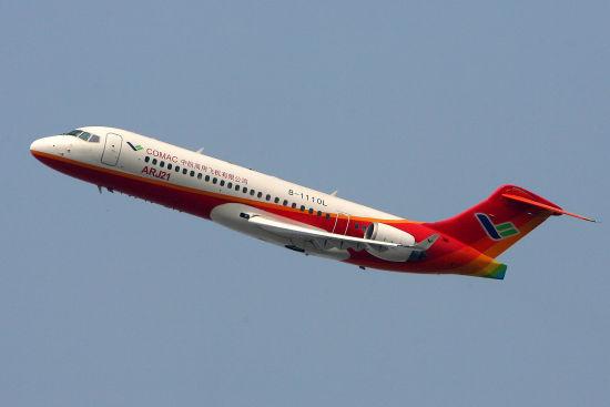 资料图:国产支线飞机ARJ21