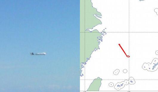 """日本防卫省于9日表示,发现有不明国籍的无人机进入了东海上空的日本""""防空识别区"""",在钓鱼岛附近上空飞行。"""