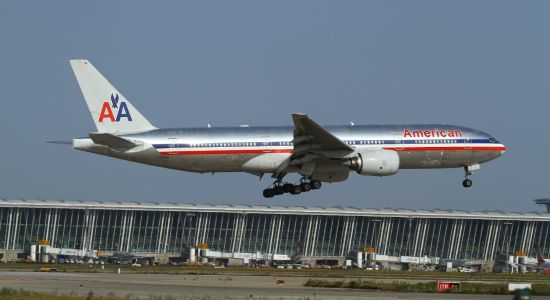 机型资料图:美国航空波音777-200型客机