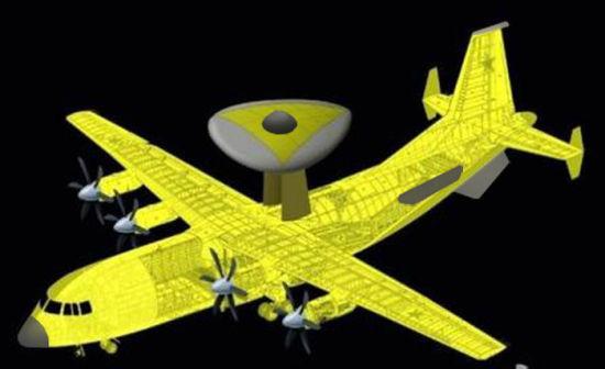 空警-500的水滴形雷达罩