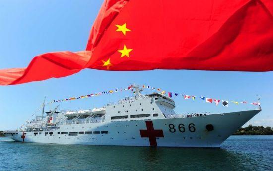 中国和平方舟号医院船