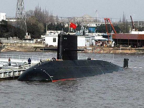 资料图:中国海军最新研制的元级常规潜艇