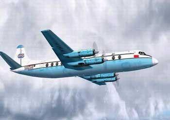 """50258号""""子爵""""飞机CG效果图"""