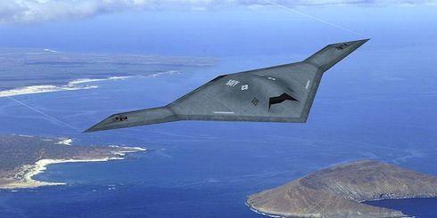 """采用""""曲柄风筝""""设计的RQ-180无人侦察机"""