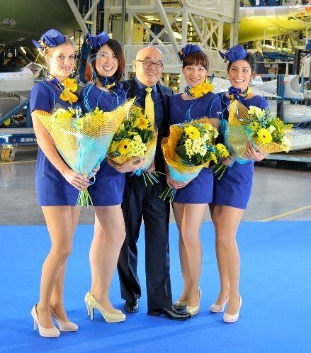 日本天马航空公司空乘新制服