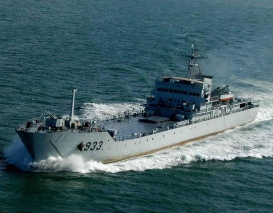 资料图:中国坦克登陆舰
