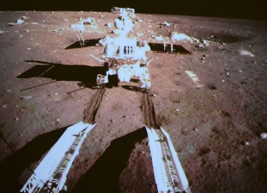 中国嫦娥3号登月