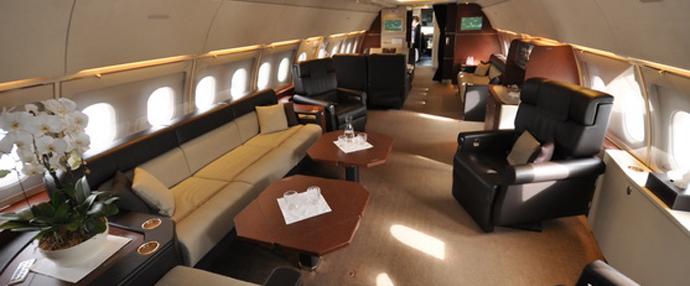 空客ACJ318公务机亮相亚洲商务航空展
