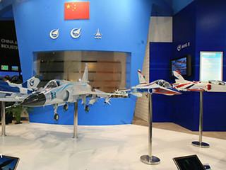 第47届巴黎航展中国航空企业展台