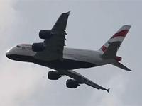 英航A380飞行表演