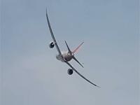 印度航空波音787飞行表演
