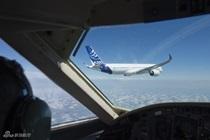 A350XWB首飞空中身姿