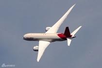 印航波音787飞行表演