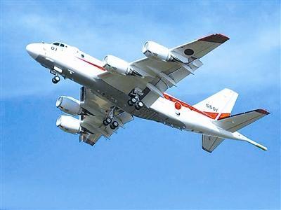 资料图:日本P-1反潜机