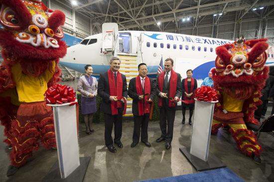 2013年,厦门航空接收了其第全波音机队的第100架飞机。