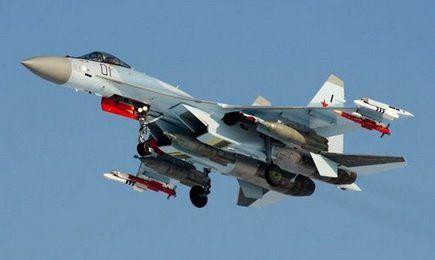 资料图:中国急于购买的苏-35战斗机
