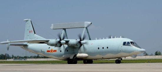 资料图:中国空军空警-200预警机