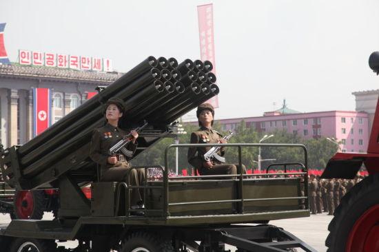 朝鲜火箭炮