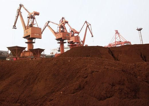 资料图:正在开采的稀土矿